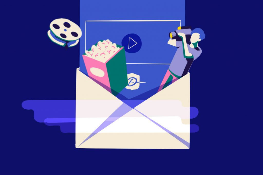 Lue directement dans l'email, la vidéo en améliore l'efficacité