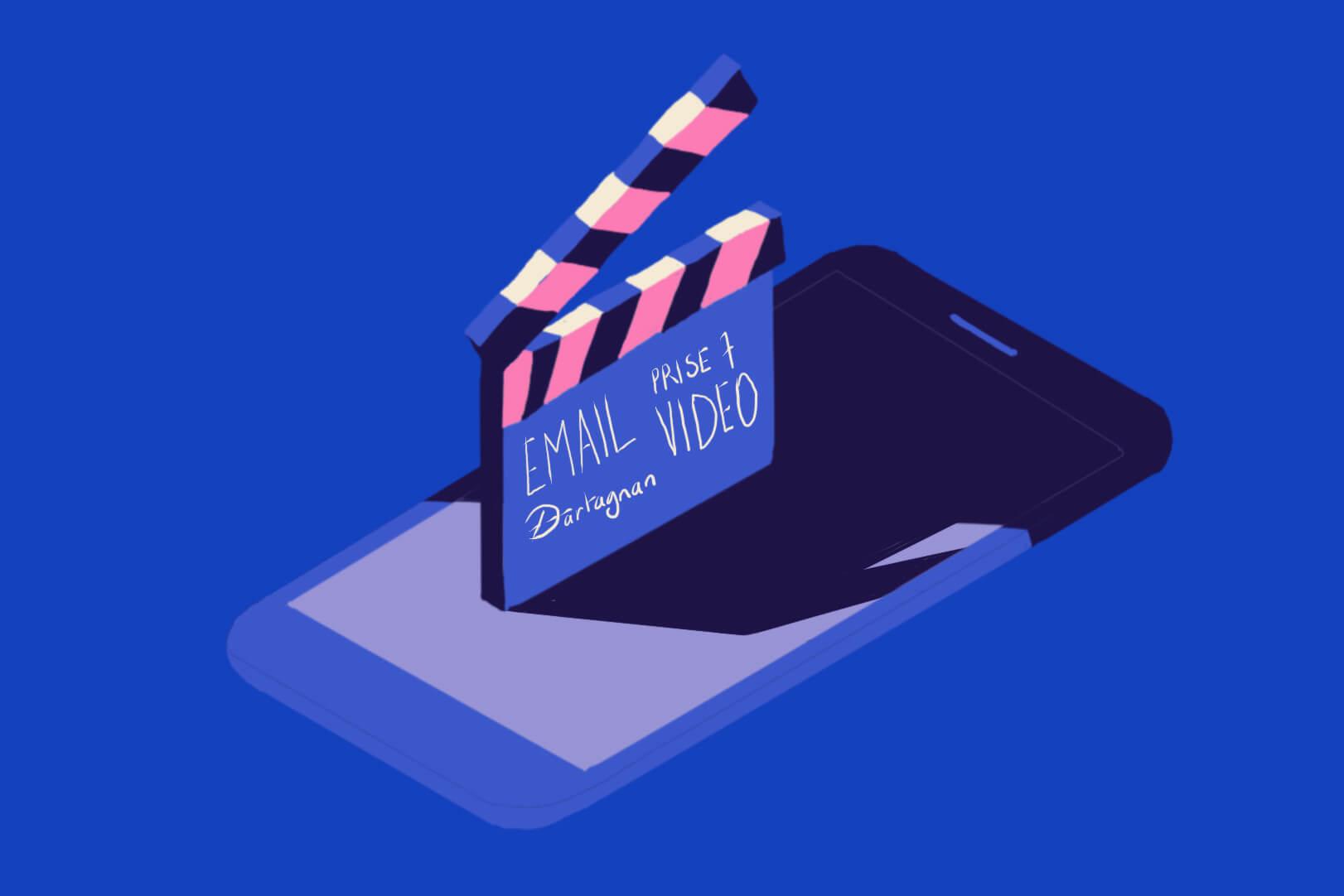 L'email vidéo facilité